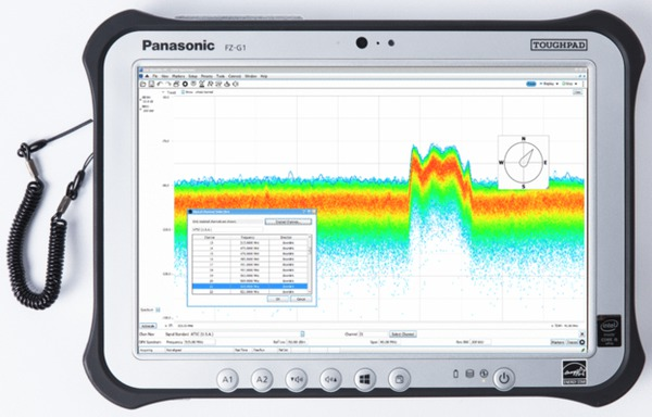 Tektronix tablet Panasonic FZ-G1
